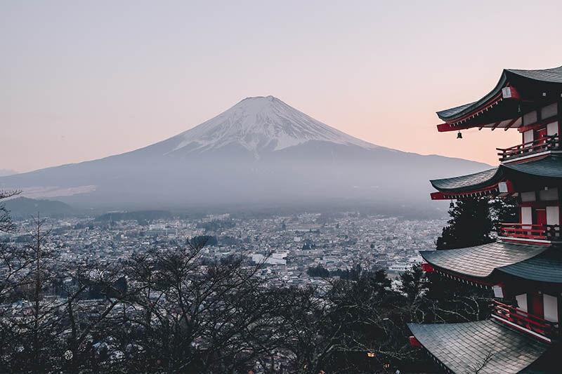 Vuelo barato Japón verano